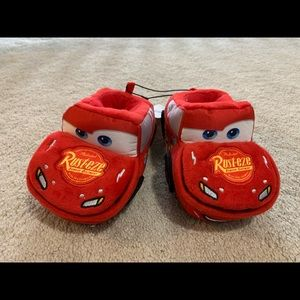Other - Nwt lightning mcqueen toddler slippers